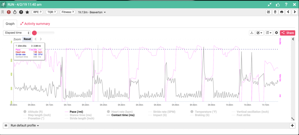 RunScribe Analytics