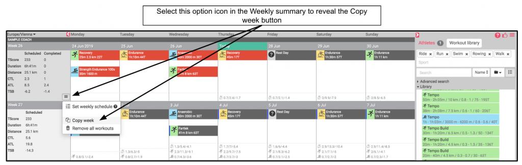"""Improved """"copy week"""" function"""